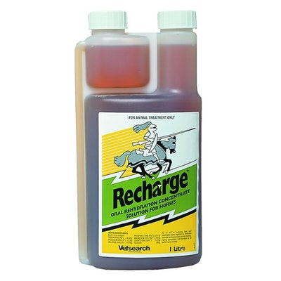 Virbac Recharge Electrolyte Energy Fluid Replacer for Horses - 2 Sizes