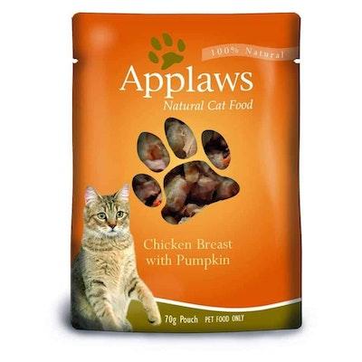 Applaws Chicken & Pumpkin Pouch Wet Cat Food 70G