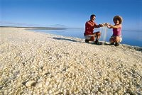 Shell Beach, southeast of Denham, courtesy Tourism WA