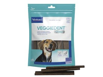 Virbac VeggieDent FR3SH Medium Dog 15 Chews