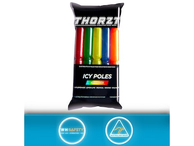 Thorzt Low Sugar Electrolyte Hydration Icy Pole - Mixed Pack - 10 x 90mL