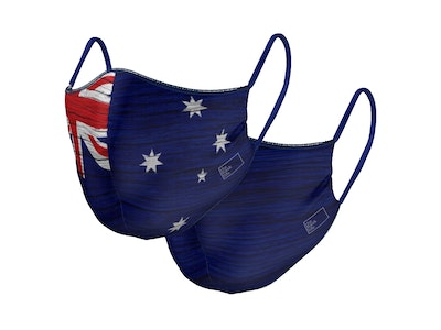 Down Under - Reversible Face Mask