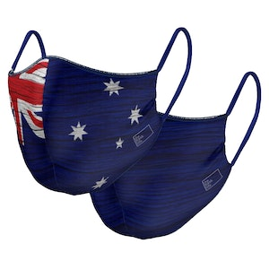 The Mask Life PRE ORDER - Down Under - Reversible Face Mask