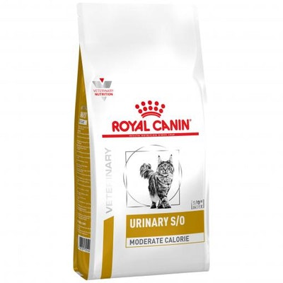 Royal Canin VET Urinary Moderate Calorie Dry Cat Food 3.5kg