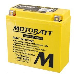 MBT14B-4 MotoBatt Quadflex 12V Battery