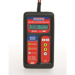 Matson Electronic Battery & System Tester