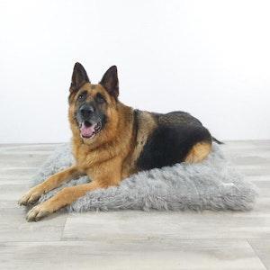 DoggyTopia L'amour Orthopedic Dog Mat - Polar Grey