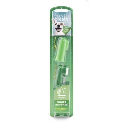 Tropiclean Fresh Breath Finger Brush for Dogs