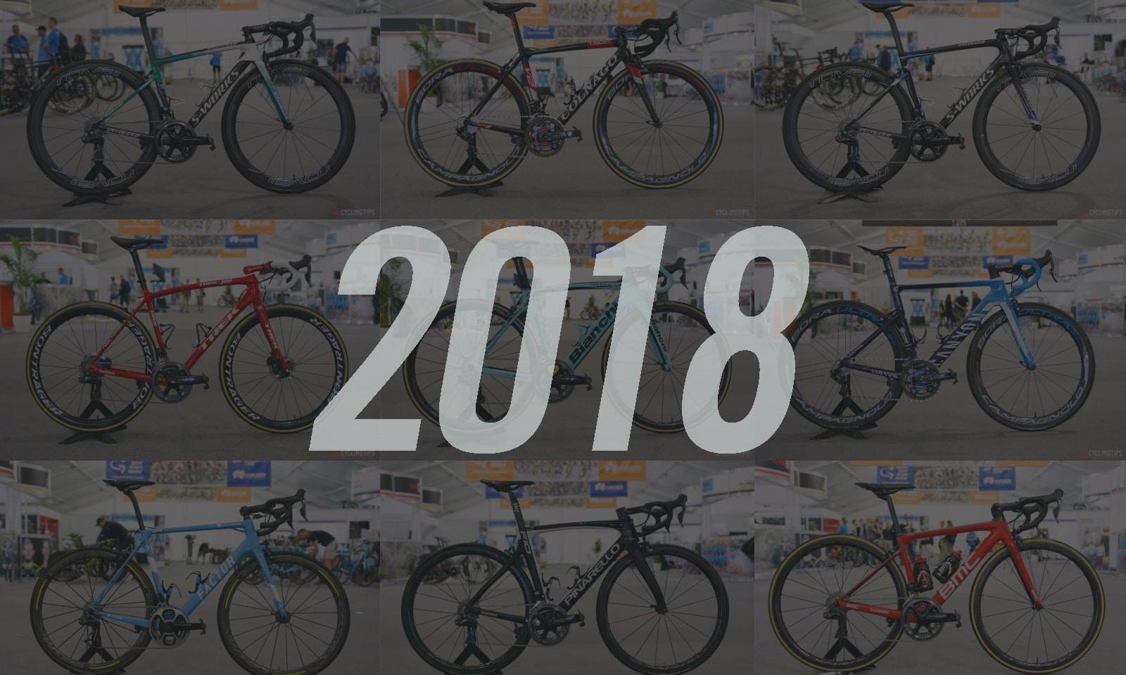 Bicicletas Pro del World Tour 2018