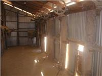 Shearing stands Arkaroola woolshed
