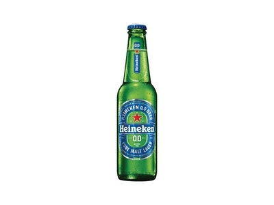Heineken 0.0% Alcohol-Free Lager Bottle 330mL
