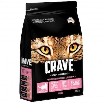 CRAVE Adult Ocean Fish Dry Cat Food 500G
