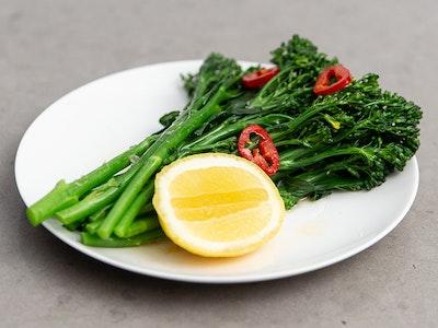 Broccolini, Chilli, Lemon