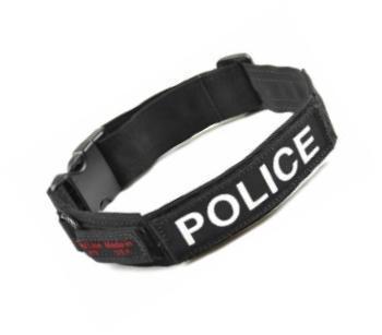 Redline K9 Custom ID Collar/Harness Badges
