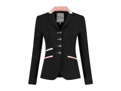 Vililiv by Juuls Glamor Black with Rose Trim Jacket