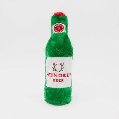 Zippy Paws Happy Hour Crusherz  Reindeer Beer