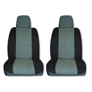Seat Covers For Toyota Landcruiser - 7 Seats - 11/2007-2020 200 Series Black