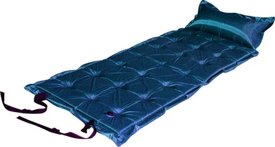 Trailblazer 21-Points Self-Inflatable Air Mattress With Pillow  | Dark Blue