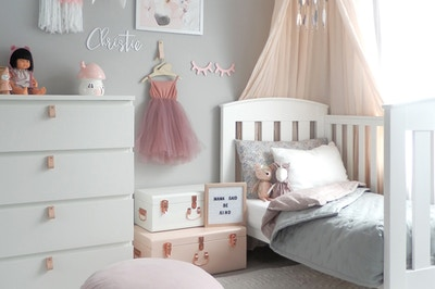Whimsical Girls' Bedroom
