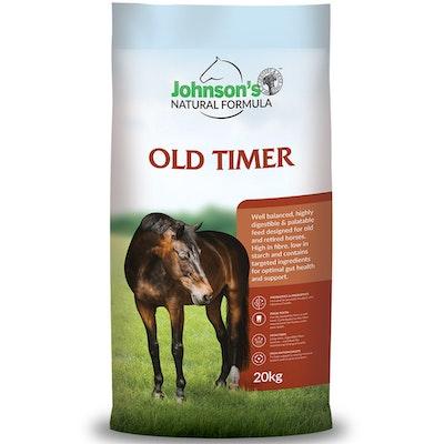 Johnson''s Johnsons Old Timer Old Horse Feed Formula 20kg
