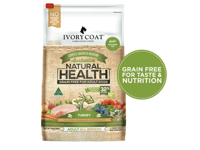 Ivory Coat Reduced Fat Turkey Dry Dog Food 13kg