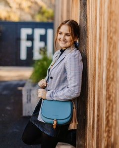 Andrea Slate Crossbody Bag