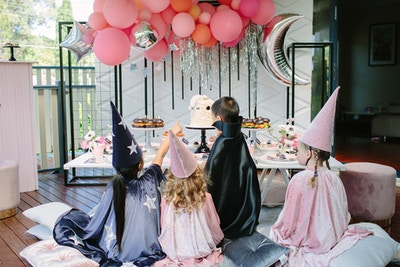 EAT, DRINK, AND BE SCARY: A KID'S HALLOWEEN PARTY