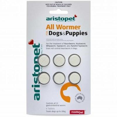Aristopet Allwormer Puppy & Dog