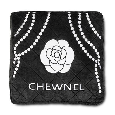 Dog Diggin Designs Chewnel Noir Dog Bed