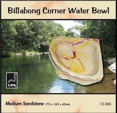 URS Corner Bowl Sandstone Medium 17*16*4.5cm