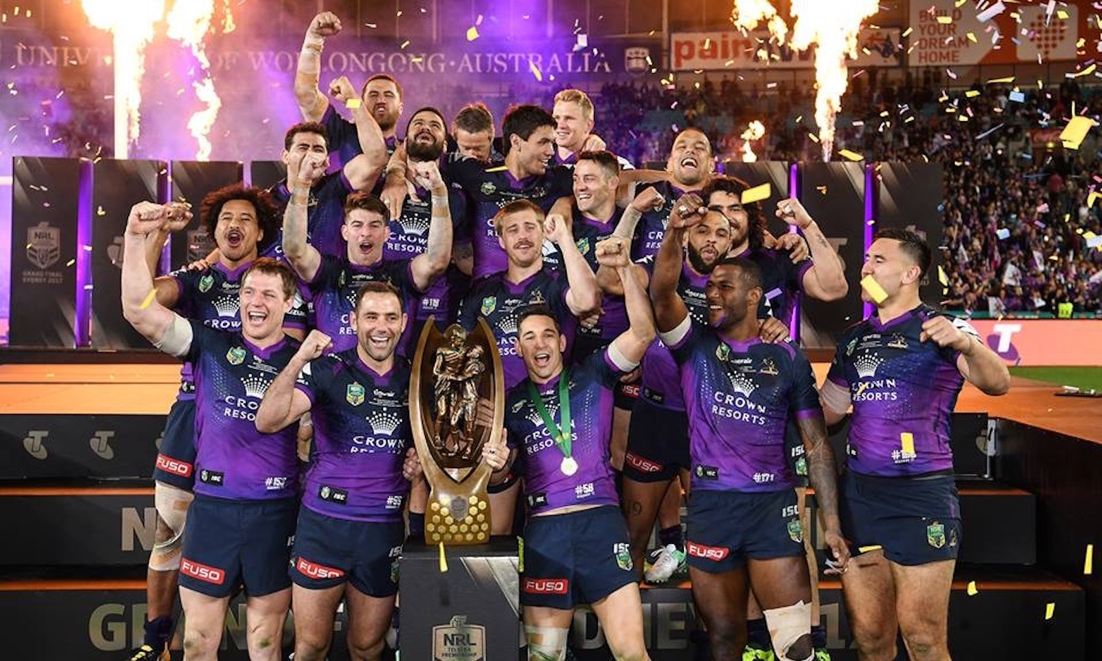 Melbourne Storm Continued Excellence