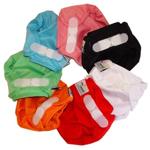 Snug Wrap Nappy Cover - NEWBORN (2.5-6kg)