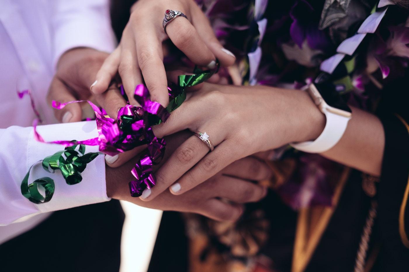 Diamonds are a girl's best friend - Der Verlobungsring