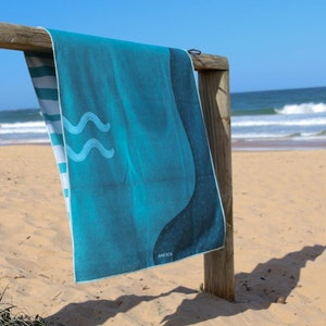 Mikkoa Sand Free Beach Towel - Sea Breeze