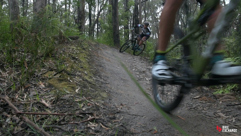 mountain bike skills technique for road cyclists trail be