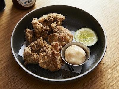 Karaage Chicken w/ Five Spice, Lime & Kewpie Mayo