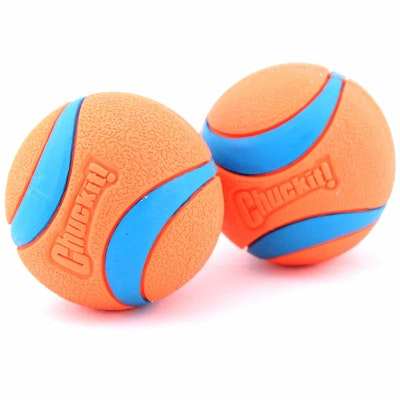 Chuckit Ultra Rubber Ball Dog Toy 2 Pack