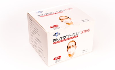 HK - STW KN95 - 20 pieces (in 1 box) ProtectPlus KN95 Respirator Mask ARTG #343845 New Packaging