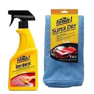 Formula 1 Dry Brite Carnauba Wax and Dry 473ml Kit