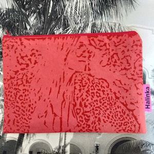 Halinka Design Zipper Pouch - Sundowner Print