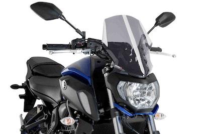 Puig New Generation Touring Screen To Suit Yamaha MT-07 2018 - 2020 (Smoke)