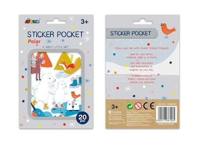 Avenir - Sticker Pocket - Polar