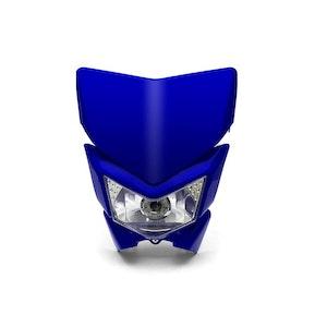 Beasty Supermoto Headlight - Blue