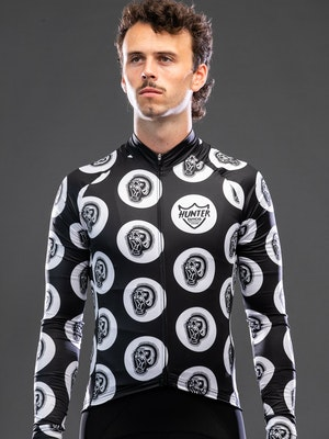 Hunter Bros Cycling Back To The Primitive Long Sleeve Jersey