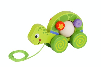 Tooky Toy PULL ALONG TURTLE