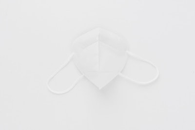 N95 Flat folded particular RESPIRATOR and SURGICAL MASK / EARLOOP