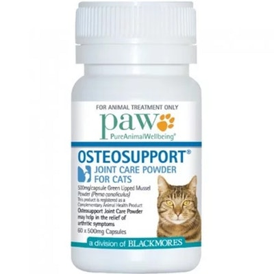 Paw Osteosupport Cat Joint Care Treatment Powder 60 Pack