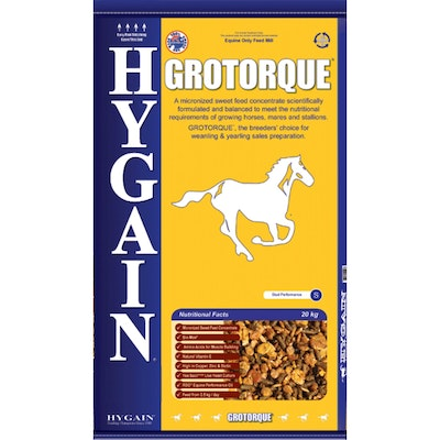 Hygain Grotorque Horses Mares & Stallions Sweet Feed Concentrate 20kg