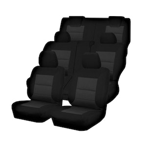 Premium Car Seat Covers For Nissan Xtrail T32 Series I-Ii 2014-2020 4X4 Suv/Wagon 5-Seater | Black