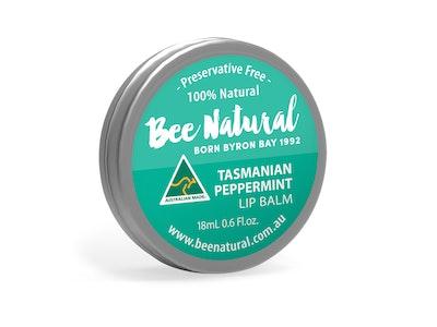 Bee Natural Peppermint LIP BALM 18mL